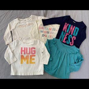 5 Long Sleeve Gymboree Shirts